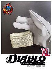 Tig Dedo XL Diablo Protector Contra El Calor Guantes de soldadura