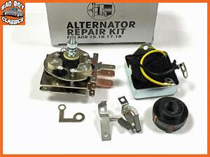 Alternator Repair Kit, Rectifier Regulator Brushes Fits LUCAS 15 16 17 18 ACR
