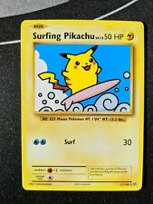 Surfing Pikachu 111/108 Evolutions - Pokemon Card Near Mint Secret Rare