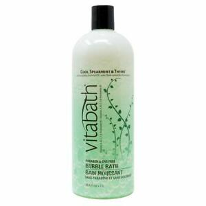 Vitabath COOL SPEARMINT & THYME 33.8 fl oz Bubble Bath