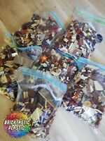 LEGO (x850pcs) 1KG Wild West Cowboy & Indian Rare MOC part Packs - Bulk Lots!