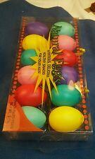 30 Dozen Brightly Colored Plastic Fillable Easter Eggs