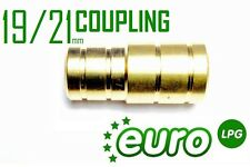 LPG AUTOGAS Water Hose Coolant Coupling Connector - Ø19/21mm PIPE FITTING