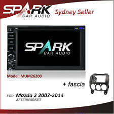 SPARK GPS DVD SAT NAV IPOD BLUETOOTH USB SD NAVIGATION FOR MAZDA 2 2007-2014