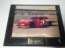 Bill Elliott 8x10 hanging photo- 1995