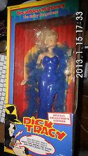 Dick tracy muñeca sin aliento Mahoney- 38 cm alrededores - nueva -1990