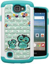 LG Optimus Zone 3 / LG Rebel LTE / LG Spree / LG K4 LTE Shockproof Hybrid Case