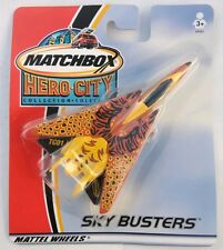 MATCHBOX HERO CITY COLLECTION SKY BUSTERS - F-14 - MATTEL WHEELS 2002 - NIB