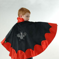 Lovely Lea Halloween Kinderkostüm VAMPIR UMHANG Fledermaus Dracula Gr. 110-140
