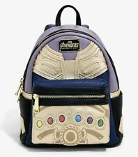 Marvel Thanos Backpack Avengers Endgame Disney Loungefly New Mini Sold Out
