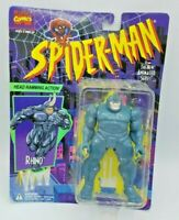 1994 Toybiz Spider-Man The Animated Series Rhino Action Figure Sealed Vintage