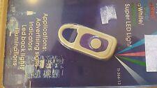 Mini TASCHENLAMPE EFFEKTLAMPE  Schlüsselanhänger, weißes Licht, sehr klein!