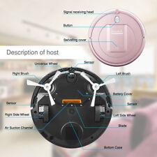 Nuovo Smart Cleaner Aspirapolvere Robot Telecomando Lavapavimenti 500pa 3-Mode