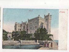 Miramar Trieste Italy Vintage U/B Postcard 243b