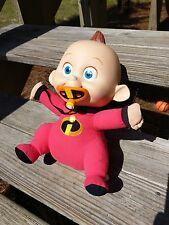"The Incredibles 12"" Talking Baby Jack Plush Doll Hasbro 2004 Pixar Disney 5982"
