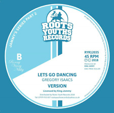 OVER THE BRIDGE / LETS GO DANCING GREGORY ISAACS KING JAMMYS SERIES 2 BRAND NEW