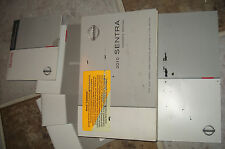 2010 NISSAN SENTRA OWNERS MANUAL PACKET