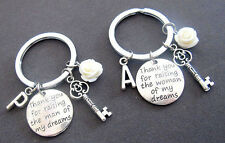 Mother In Law Gift Keychain Thank You For Raising the Man/Woman of My Dreams