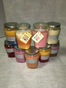 Extra Large Scented Candles in Glass Jars Home Interiors LIMITED TIME
