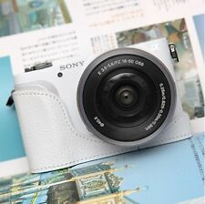 CIESTA Leather Camera Body Case [White] CSJ-NEX3N-17 for Sony NEX-3N