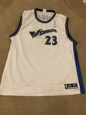 Vintage MICHAEL JORDAN WASHINGTON WIZARDS Reebok LAST DANCE NBA Jersey Sz XXL