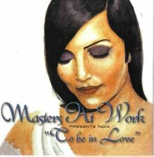 Masters at Work To be in love (1999; 2 versions, cardsleeve, feat. I.. [Maxi-CD]