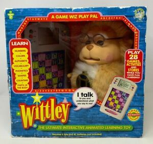 VTG Wittley The Ultimate Electronic Interactive Animated Preschool Learning Toy