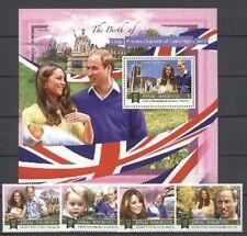 Royal Baby, Charlotte, Kate, William - Malediven - ** MNH 2015