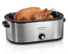 Roaster Oven Electric Turkey Slow Cooker Home Kitchen Bake Roast Cook Equipment