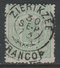 Francotakjestempel Zierikzee op nvph 15