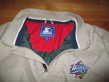 1998 Starter World Series NEW YORK YANKEES 1/4 Zippered (MED) Jacket