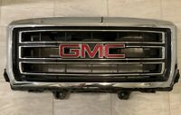 2014-2015 GMC SIERRA 1500 SLE/SLT OEM CHROME GRILLE w/EMBLEM Complete Assembly