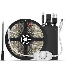 SUPERNIGHT® Waterproof 5M 600 LED Light Strip 3528 Warm White+ Dimmer +12V Power