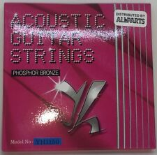 Acoustic Guitar Strings Phosphor Bronze Medium Gauge 11 - 50 by Allparts