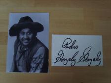 Pedro Gonzalez Gonzalez Genuine Autograph - UACC / AFTAL.