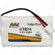 CTB74 3.6V NiMH Cordless Phone Battery