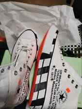 New Converse x Virgil Abloh Off White Hi Chuck High Top Men Women Shoes Limited