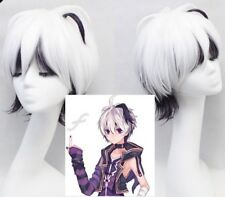 VOCALOID4 Library V4 Flower White purple Cosplay Party Halloween Style Hair Wig