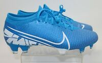 Nike Mercurial Vapor 13 Pro Fg M AT7901 414 Soccer Cleats Blue Mens Size 5 NEW
