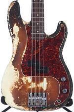 1969 Fender Precision P Bass -RARE ORIGINAL SUNBURST OVER WHITE-