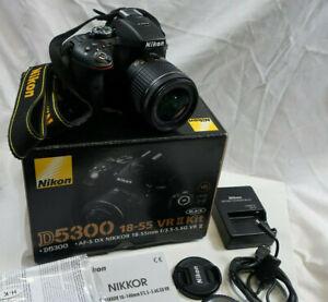 Nikon D5300 with AF-P DX Nikkor18-55mm f/3.5-5.6G VR Auto Focus