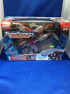 Transformers Armada Starscream with Swindle Mini-Con Figure, New in Box