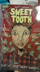 Sweet Tooth Comic First Print 2018 Black Badge 1 1 in 20 Variant Jeff Lemire