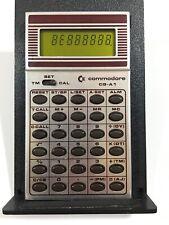 Vintage Very Rare! COMMODORE CQ-A1 Calculator W/ Case