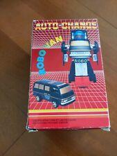 Vintage Remote Auto Change Robo Van Transformer Figure Robot Rare Free Ship