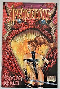AVENGELYNE Dragon Realm #2 AUG 2001 Sean Shaw Variant Avatar Press NM