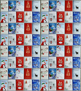 x80 Job Lot Bulk Wholesale Christmas Cards A5 size individually wrapped.