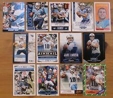Jake Locker - 13 card lot - Rookies & Stars, Topps Archives, Prestige, all diff