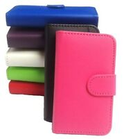 PU Leather Samsung Galaxy Fame S6810 Wallet Book Flip Phone Case Cover