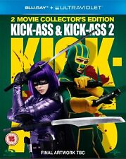Kick-Ass and Kick-Ass 2 1-2 Blu-ray Box set Collector's Edition NEW SEALED